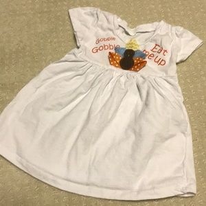 Other - Darling turkey shirt for thanksgiving